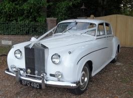 Rolls Royce wedding car in Southampton